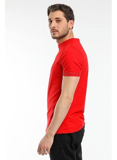 Slazenger Slazenger MOPET Erkek T-Shirt  Kırmızı